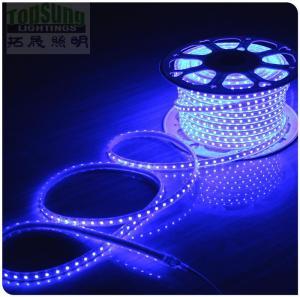 100m 230v AC led strip 5050 waterproof cuttable strips lights flexible blue color