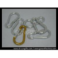 Quality Silver color promotional carabiner key chain for sale