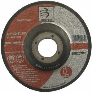 "Depressed Center Thin Cutting Disc 41/2""X. 045""X7/8"""