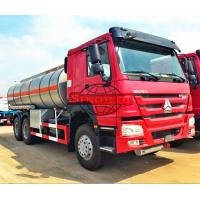 Quality Light Diesel Oil Tanker Truck 20 - 25 CBM 5000 - 6000 Gallons Volume for sale