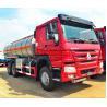 Buy cheap Light Diesel Oil Tanker Truck 20 - 25 CBM 5000 - 6000 Gallons Volume from wholesalers