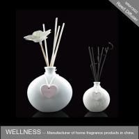 White Ceramic Scent Diffuser Personalised Shape For Wedding / Party / Gift