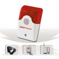 Quality Wireless Security House Alarms YL-007AS with flash alarm system for sale