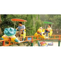 Best Monorail Ride Amusement Park Roller Coaster Equipment , Japan Air Cycle wholesale