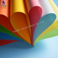 Quality A4 offset printing color paper, color copy paper A4 in China for sale