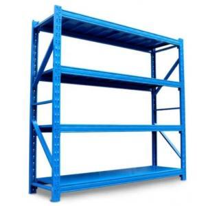 Quality 4 Tier Q235 Steel Garage Storage Racks 1200X450X2000mm for sale