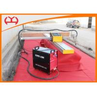 Buy Mini Portable CNC Cutting Machine , Single Side Computerized Plasma Cutter at wholesale prices