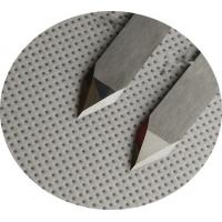 Quality Flatbed Cutting Machine Double Edged Blades Knife For Cut Hard Materials for sale