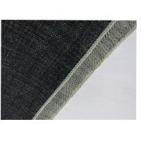 Quality Self Edge Natural Denim Fabric , Pants Purple Denim Fabric Textiles Material for sale