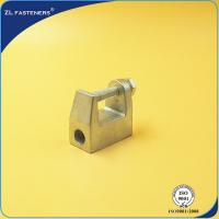 China Zinc Plated Cast Steel Cable Clamps , Malleable Iron Beam Clamp M6 ~ M16 on sale