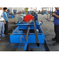 Quality Selective Pallet Rack Step Beam Roll Forming Machine for sale