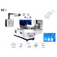 Quality 6-8 Pcs / Min Medical Pouch Making Machine Three Phase With 7T69RB Vibrational Tube for sale