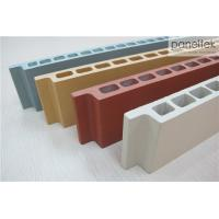 Quality Natural Color Terracotta Panels Facade Cladding MaterialsWith Low Maintenance for sale