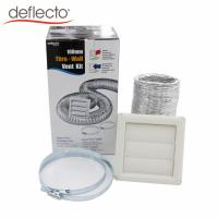 Quality Bathroom Venting Dryer Vent Duct Cleaning Kit / Aluminum Flexible Air Duct for sale