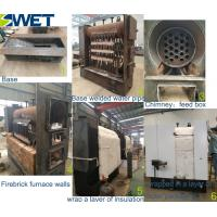 Vertical type water tube industrial food mini wood pellet fired boilers for heating