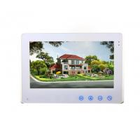 Quality OEM ODM Manufacturer 10 inch Color LCD 4 wires VDP intercom system touch screen indoor monitor for sale