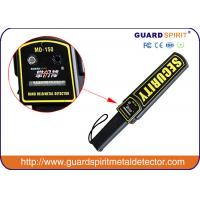 Quality Airport Portable Security Body Scanner High Sensitive 9V AA Battery for sale