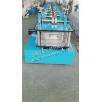 Quality Chains Driven CZ Purlin Roll Forming Machine With Pre - Punching For The Roofing Project for sale