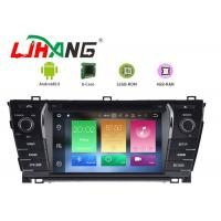 Quality BT Canbus Rear Camera Toyota Corolla Navigation DVD Player 1280*600 Resolution for sale