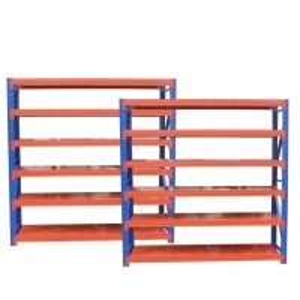 Quality Electrostatic Spraying Six Layers Metal Storage Rack SGS for sale