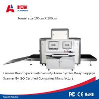 Quality Tunnel X Ray Inspection Machine , Airport Security Baggage Scanner Equipment for sale
