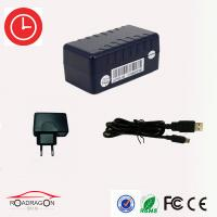 Best Oem Black Automotive Gps Tracker , Real Time Gps Tracker For Car wholesale