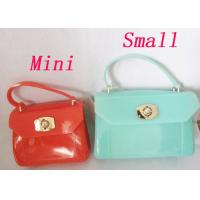 Buy cheap Jelly Silicone Handbag Cross-body PVC Polished Metal Hardware from wholesalers
