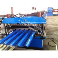 Quality High Ribs For Roof Panel Roll Fomring Machine With Hydraulci Press Cutting and PLC Control System for sale