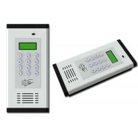 Buy cheap 2 wire stainless steel button building audio intercom system outdoor station from wholesalers