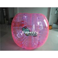 China PVC / TPU Colorful Inflatable Bumper Ball , Giant Knocker Soccer Balls on sale