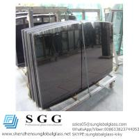 Quality Grade A High quality black table top glass for sale