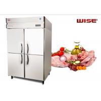 Quality European Standard Commercial Refrigerator Freezer Built In Fan Cooling System for sale