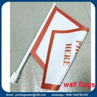 Quality Custom PVC Wall Flags and Banners with Flagpole for sale