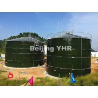 Safety Liquid Fertilizer Storage Tanks , Steel Panel Tanks 6.0 Mohs Hardness