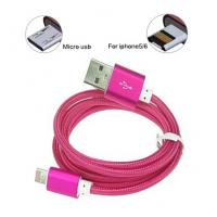 New design 2 in 1 Flat Noodle Cable,10 colors,Have Dust cover design