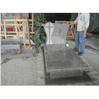Quality G664 granite tombstone for sale