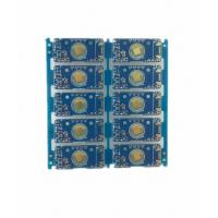 Quality 2 Layer Prototype Circuit Board FR4 TG 135 Blue Soldermask 35um Copper HASL Lead Free for sale