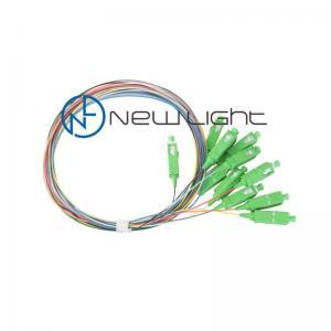 Quality 3m 12 color PVC LSZH Om3 Sc Fiber Optic Pigtail for sale