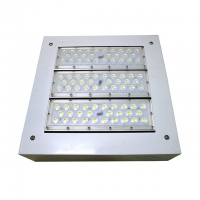 Quality Waterproof IP 67 150W LED Canopy Light Fixtures AC 100 Volt - 240V for sale