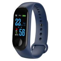 Quality Factory Wholesale M3 Message Push Sport smart bracelet Smart Band with Heart Rate Monitor for sale