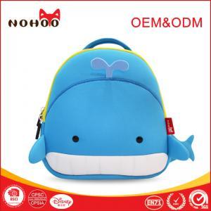 Quality Cartoon Style Toddler Animal Backpacks , Cute Preschool Backpacks for sale