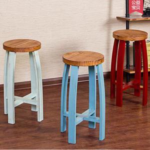 Smashing industrial bar stool  \Factory wholesales steel stool\Adjective Rotro Coffe room stool