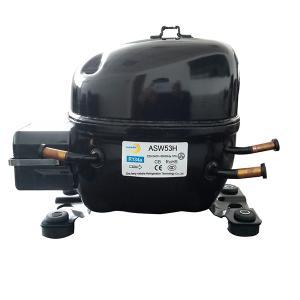 Quality R134a refrigerator compressor(ASW53H) 1/6 hp for sale