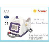 Portable Q Switch ND YAG Laser Tattoo Removal Machine / Age Spot Removal Machine for sale