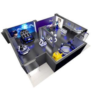 Quality Commercial VR Theme Park 220V / 380V 20-500 Square Meter Design for sale