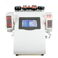 Quality Economic 8 Paddles LASER LIPO  Machine with Cavitation / VACUUM RF / infrared for sale