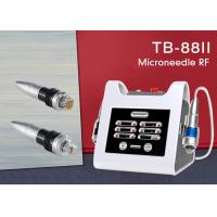 Buy cheap Spa Fractional RF Microneedle Machine , Thermagic Skin Rejuvenation Face Lifting Device from wholesalers