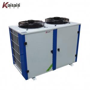 Quality Copeland ZB Series compressor  Box Type Refrigeration Compressor Condensing Unit Middle tem cold room equipment for sale