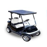 Quality 2 seat Solar golf cart for sale