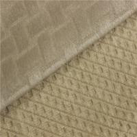 Quality Shrink - Resistant Soft Fleece Fabric Auto Interior Upholstery Fabric for sale